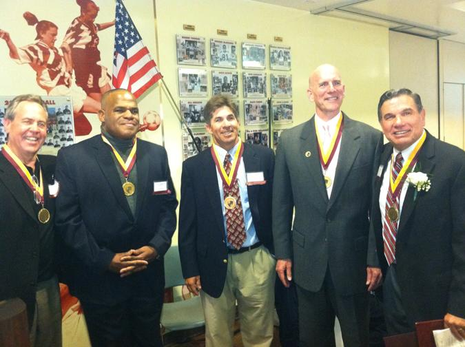 Hall of Fame Honors Distinguished Athletes