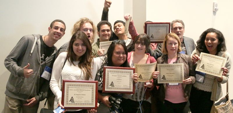 El Vaquero and the Insider Magazine  Win 11 Awards at Journalism Competition