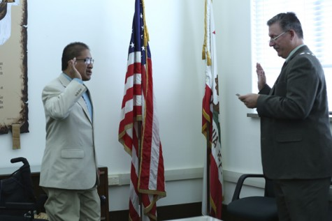 GCC Student Sworn in as LA Commissioner