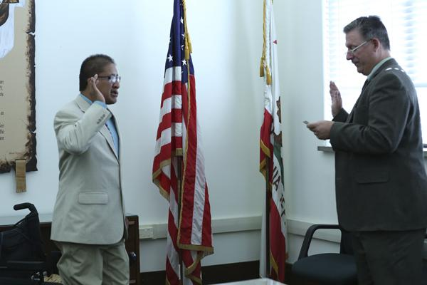 GCC Student Sworn in as LA Commissioner