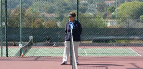 Tennis Players Call Their Own Shots