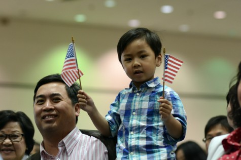 Thousands of Immigrants Take the Final Step to Citizenship with SLIDESHOW COVERAGE