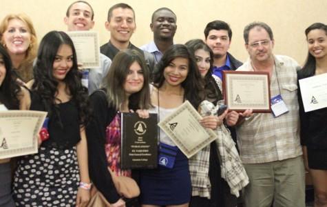 El Vaquero Wins Awards at State Conference