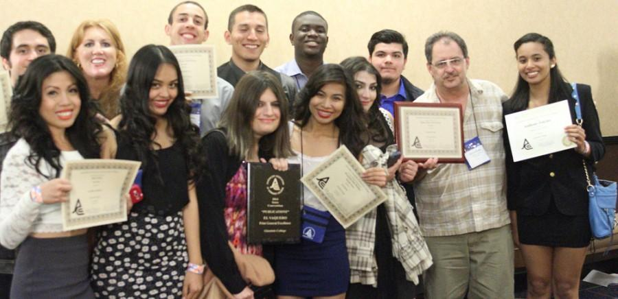 El Vaquero Wins Awards at State Conference