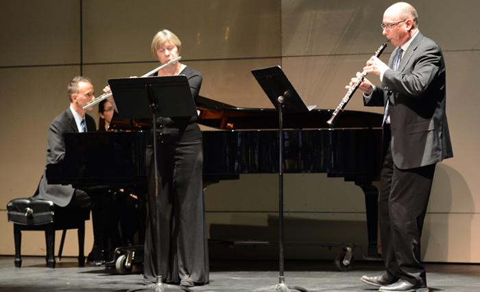 Music Faculty Hits All the Right Notes at Recital