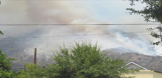 Wildfire+Burns+Above+Glendale