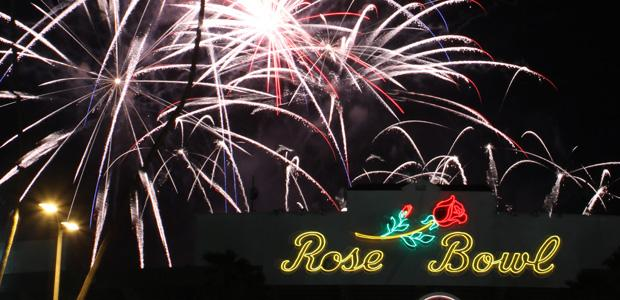 Fireworks+at+the+Rose+Bowl+-+Exclusive+Slideshow+Coverage