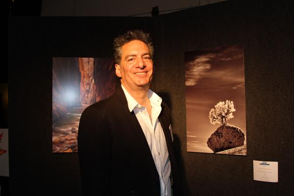 ART FUNDRAISER: GCC Board of Trustees President Vahe Peroomian, running for reelection April 7, offered his photos for auction to benefit the Glendale Youth Alliance on March 13.