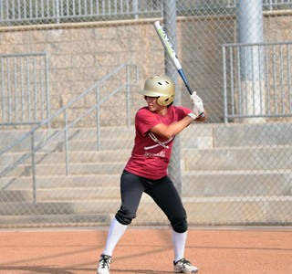 Softball Player Hits with Heart