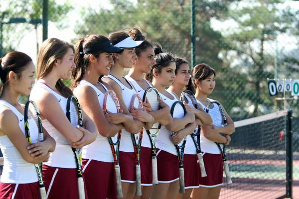 TENNIS STARS: The Lady Vaqs have won the first Western State Conference Championship in GCC history.