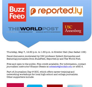 Journalism Day at GCC