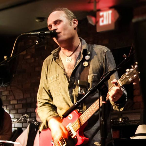 New Media Training: Glendale College alumnus Andrew Sherman performs with his band the Vehicle at Taix 321 Lounge in Echo Park in January.