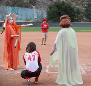 Drag Softball Game  Benefits AIDS Charity