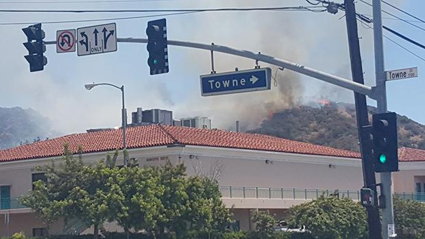 UPDATE%3A+Brush+Fire+South+of+Campus