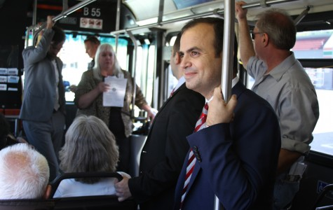 Glendale Council Members Tour City With Bus Riders