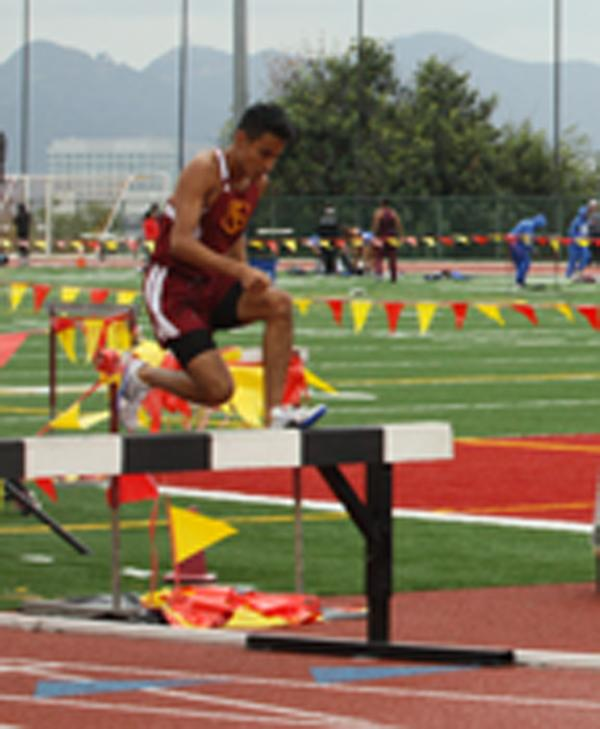 Track and Field Place High  at Western State Conference
