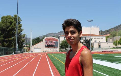 THE FASTEST: Cross Country Captain Vahagn Isayan is ranked No. 1 in Southern Caliornia going into the finals.