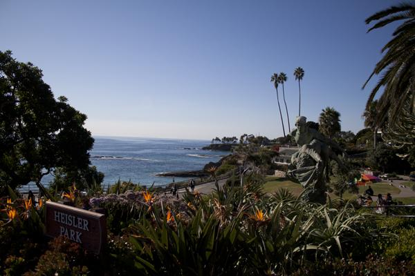 DRAMATIC VIEW: Heisler Park at Laguna Beach is is a marine life sanctuary and features walking trails, tidepools and gardens.