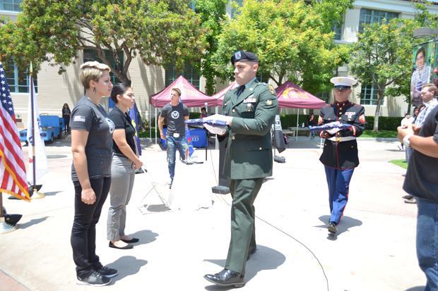 Campus Veterans Observe Memorial Day