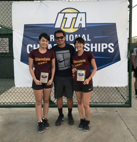 Women's Tennis Duo 7th Best in Nation