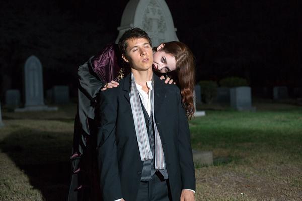 Actors McKenzie Eckels and Eric Keitel.