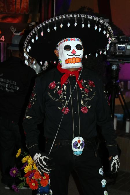 TO DIE FOR: Saturday's Day of the Dead event is Sandra Chaidez's seventh year attending - the biggest ever.