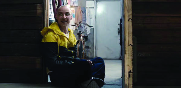 "CRAZY ABOUT YOU: James McAvoy stars in M.Night Shyamalan's newest movie, ""Split.""  Highly recommended."