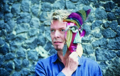 David Bowie:  Among the Mexican Masters at Forest Lawn