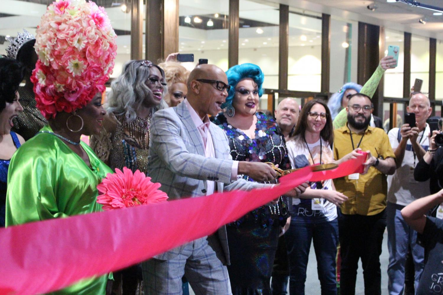 RuPaul and the cast of season 9 kick-off third annual DragCon on April 29.