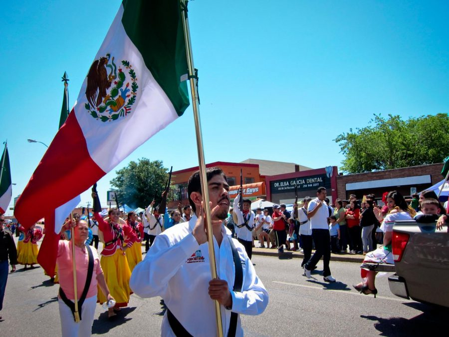 Cinco de Mayo parade in Dallas, Texas.