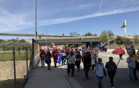 25th Annual Cesar Chavez March Draws Hundreds