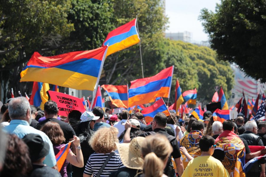 As they chant through the streets of Hollywood, Los Angeles Armenians continue to fight for a cause that never dies.