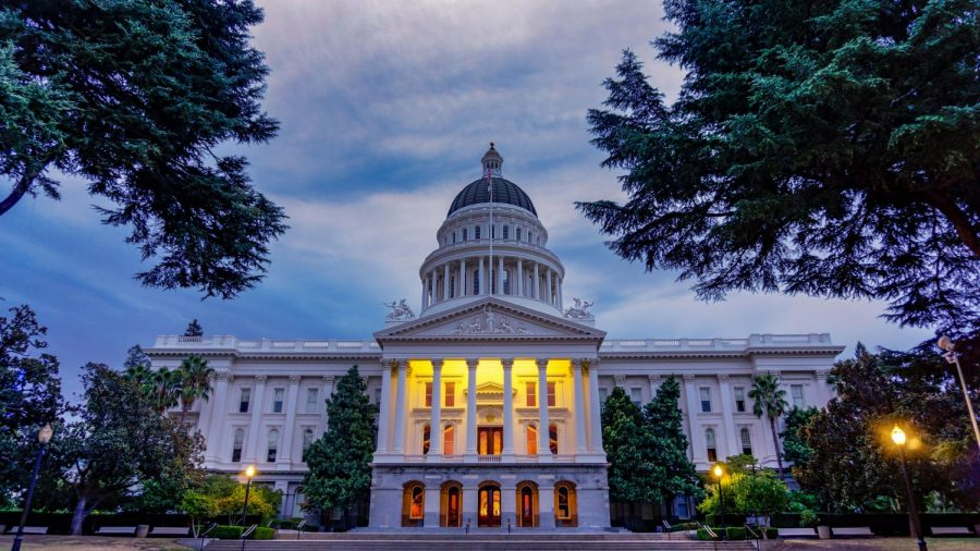 THE+CALIFORNIA+CAPITOL%3A+Upon+the+conclusion+of+the+elections%2C+the+new+representatives+of+California+will+gather+within+the+California+Capitol+building+for+state+legislature+meetings.