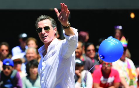 Newsom sells himself on being able to uphold the virtues of diversity in California.