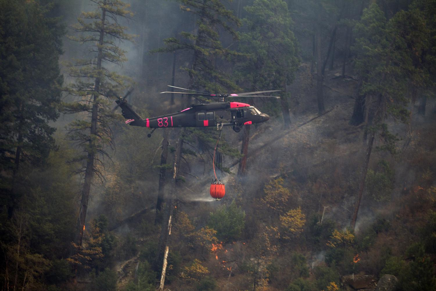 Crews battle the fire up in northern California. At least 88 people died in the Camp Fire.