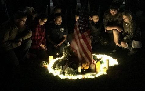 Residents of Thousand Oaks and surrounding communities gathered to honor those who lost their lives in a mass shooting at a local bar.