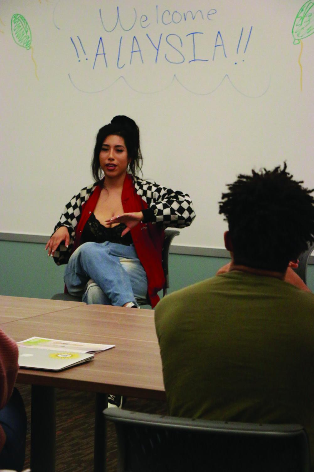 Alaysia Navarro recounts stories from the life a a female radio personality.