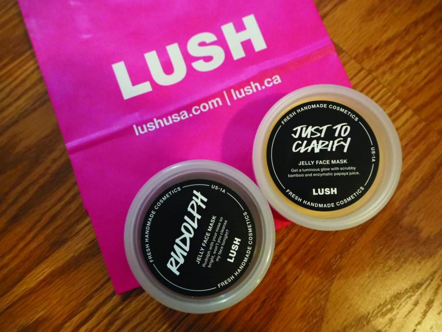 Affordable jelly masks are available in LUSH stores.