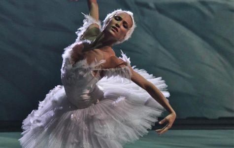 Ekaterina Shipulina from the Bolshoi Theater performs