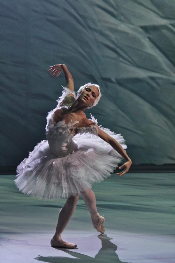 Ekaterina+Shipulina+from+the+Bolshoi+Theater+performs+%22The+Dying+Swan%22+from+%22Swan+Lake%22+ballet.+