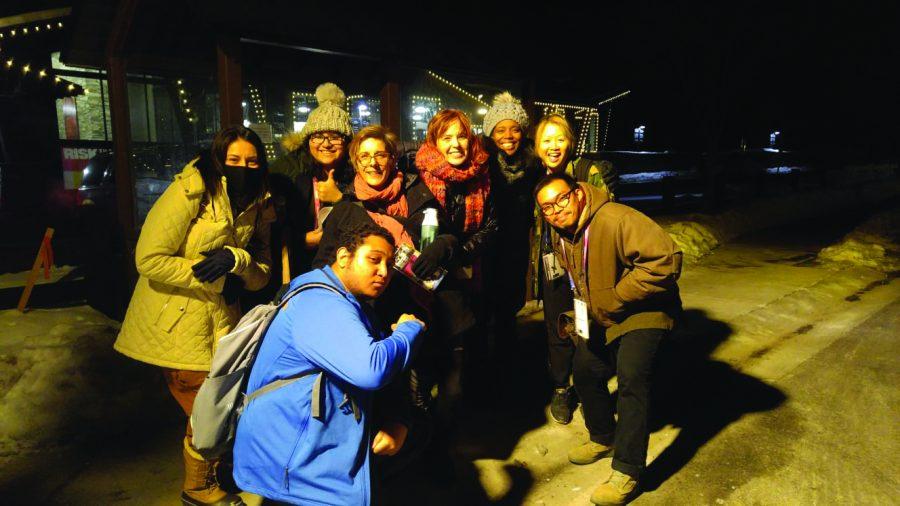 (L to R) Michelle Castillo, Cathy Veliz, Deb Diehl, Geri Ulrey, Paule Bernadel and Tina Sinalapasai (Bottom) Malcom Jones and Ryan Bounophanasaysol