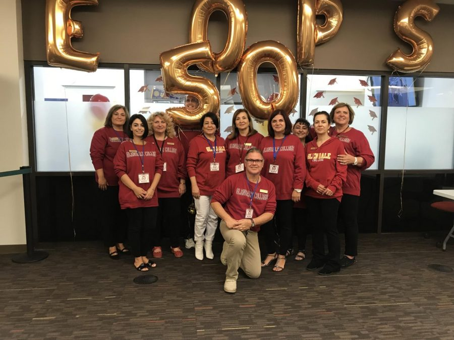 The+EOPS+staff+celebrates+50+years+of+service.