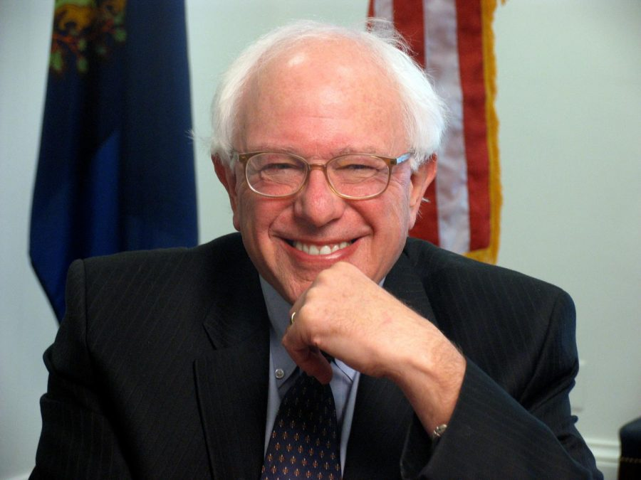 FAN FAVORITE: Bernie Sanders of Vermont poses in this Truthout.org photo.