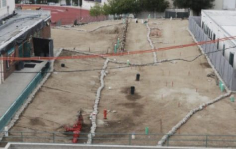 Contruction Continues : The building site since phase one began in October 2017