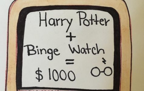 Binge Watch Harry Potter and Earn $1000