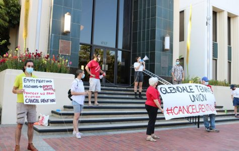 Glendale Tenants Union Protests Against City Council
