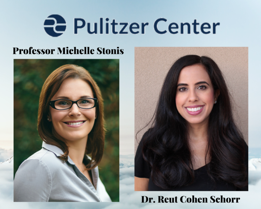 The GCC Pulitzer Center Campus Consortium is spearheaded by history professor, Michelle Stonis, and journalism professor, Dr. Reut Cohen Schorr.